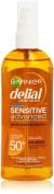 DELIAL Sensitive Body Oil Protector with SPF 50 Plus 150 ml