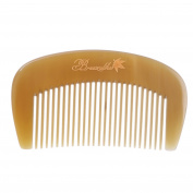 Breezelike No Static Ox Horn Pocket Fine Tooth Comb