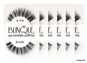 Blinque False Eyelashes 6 Pairs Eyelashes - (Same factory & production line as Red Cherry) (415) by Blinque