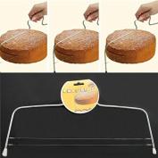 EQLEF® Baking Wire Cake Cutter Stainless steel Cake Slicer / Cake Leveller