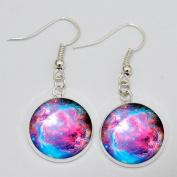 Nebula Earrings. Charm Earrings.galaxy Jewellery Earrings.