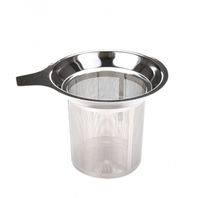 Wetrys 1 Pcs Stainless Steel Tea Infuser Steeper Strainer for Loose Leaf Grain Tea Cups Mugs
