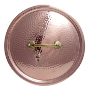 """PINTI Copper Lid, Tin-Plated Series """"Cooking Pot Lid, 24"""