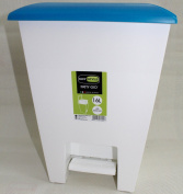 New Patty GIO 16L Home Waste Rubbish Papers For Kitchen, Office, Garages, Bathroom Indoor Pedal Bin