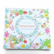 Fantasy Dream Coloring Book