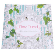 Time Travel Colouring Book - Anti-stress Activity