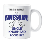 This Is What An Awesome Uncle Knobhead Looks Like Mug Gift Cup Ceramic Fathers Day Uncle