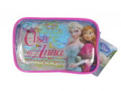 Official Licenced Disney Frozen Anna & Elsa Beauty Purse / Make Up Bag Hair Clips Comb Elastics