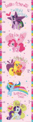 My Little Pony ST0636 ST0636 My Little Pony Peel and Stick Growth Chart by Fun4Walls