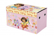 Nickelodeon Dora The Explorer Collapsible Storage Trunk Pink