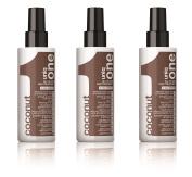 Uniq One Coconut Hair Treatment 150 ml All in One x 3