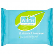 Witch Cleansing & Toning Wipes (25) - Pack of 2