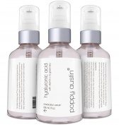 Poppy Austin® Best Hyaluronic Acid Serum for Skin. HUGE 60ml Bottle. Infused With Vitamin C, Green Tea & Jojoba Oil. 100% Pure Hyaluronic Acid Moisturiser for Face. Voted Best Anti Ageing Serum 2016