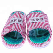 Acupunture foot massage slippers
