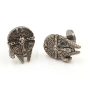 Star Wars Vintage Gothic Fighter Warship Cufflinks