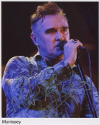 Morrissey SIGNED Photo 1st Generation PRINT Ltd 150 + Certificate