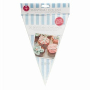 20 Disposable Icing Bags Cake Cupcake Piping Decorate Baking Sweet Party Bag