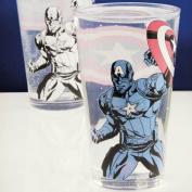 Marvel Captain America Colour Change Glass, Multi-Colour