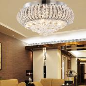 OOFAY LIGHT® Simple and elegant crystal light, 5-head crystal ceiling light for living room, Modern bedroom crystal ceiling light