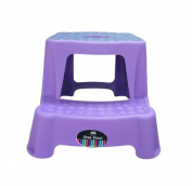 Purple High Quality Sturdy Plastic Step Stool Home Bathroom Kitchen