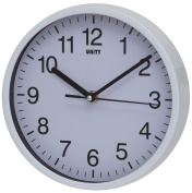 Unity Radcliffe Silent Sweep Wall Clock, White