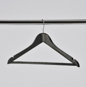 HWHB50 Black wooden Suit Hanger