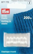 PRYM 977770 Knitting-in elastic length 200m transparent, 1 piece