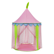 Girl's Pink Princess Play Tent Indoor Outdoor Party
