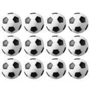 Fancyus 12pcs 36mm Plastic Table Football Foosball Ball