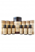 Luxurious Aromatherapy Bathing Set with Dead Sea Salts and 6 All Natural Bath and Body Oils by Source Vitál