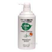 Leaves of Sunny Place basil + mandarin orange body cleansers 600ml