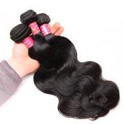 Magic Show Hair Brazilian Hair Body Wave 3 Bundles Unprocessed Virgin Human Hair Weave Weft Mixed Length Natural Colour