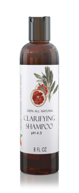 Organic Colour Safe Clarifying Shampoo - Non-Detergent (No Sulphates) Formula - Removes Dulling Buildup without stripping hair - Restores Shine - Gentle & Nontoxic - Paraben Free