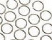 HWP10 Jump Ring 1/4 inch or 7mm Silver Colour / Package of 200