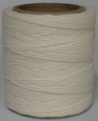Maine Thread - .110cm White Waxed Polycord. 60m each. Includes 2 spools.