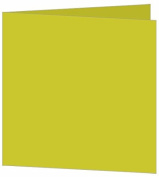 Blank Fold Invitation Card A7 Matte Eggshell Chartreuse, 25 pack