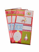 Spritz Folk Gift Tags 21 Count - Self Stick