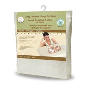 Snoozy Organic Terry Contoured Change Pad Cover, 41cm x 80cm