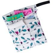 """Wet / Dry Bag for Cloth Nappies or Laundry """"Cupid's Arrows"""""""