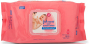 Johnson's Baby Skincare Wipes (80 Sheets) - HerbalStore_24*7