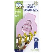 "Baby Buddy ""Size-It"" Closet Organisers, Pink"