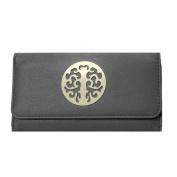 Black Medallion Wallet
