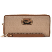 Michael Kors Jet Set Travel Continental Clutch Wallet Wristlet