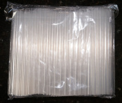 250cm Wide Smoothie and Bubble Tea Fat Straws - Sparkling Clear