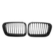 Asdomo Black Euro Front Upper Kidney Grille For 1998 1999 2000 2001 BMW E46 3 Series M3 320i 323i 325i 328i 330i 4D