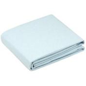 Flannel Flat Crib Sheet - Colour