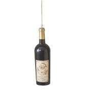 "11cm Tuscan Winery ""Chateau Santa"" Wine Bottle Christmas Ornament"