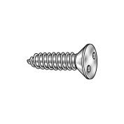 Tamper Screw, Flat, #8,1 1/2 L, PK25 - 1 Each