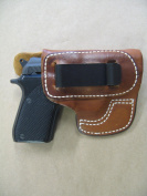 Taurus PT22 / PT25 IWB Waistband Moulded Leather Concealed Carry Holster CCW TAN RH
