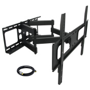 80cm - 180cm Full Motion Double Articulating Wall Mount